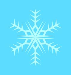 Snowflake sharp symbol vector