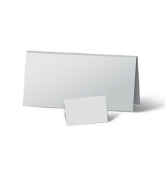 twot of white paper vector image