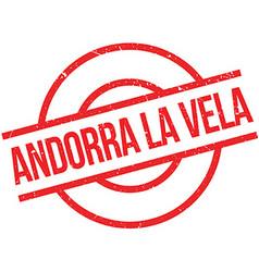 Andorra La Vela rubber stamp vector