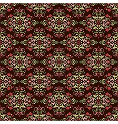 Antique ottoman turkish pattern design fourty six vector image