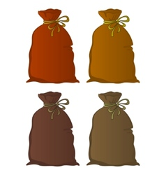 bag linen set vector image