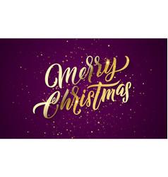 christmas golden light sparkles xmas gold glitter vector image