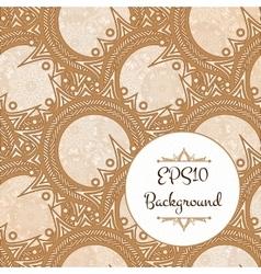 Elegant Henna Pattern vector
