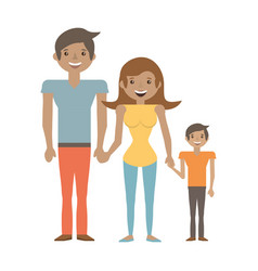 Family people relation lovely vector