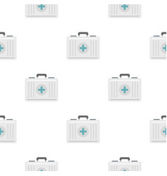 First aid pattern seamless vector