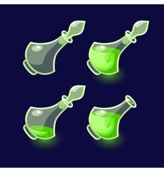 Game icon of magic elixir vector image