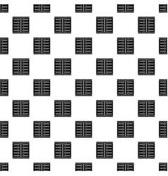 Jalousie pattern vector