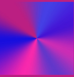 Metallic purple conical gradient vector