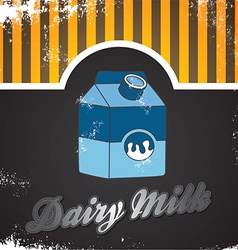 Milk design elements vector