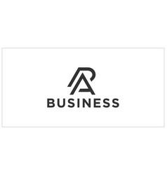 Pa ap logo design inspiration vector