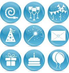 Party web icons vector