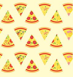 pizza11 vector image