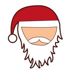 Santa claus comic character vector