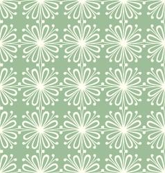 seamless petal pattern vector image