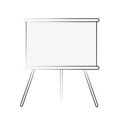 chalkboard board icon image vector image vector image