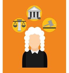 justice concepts vector image