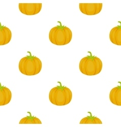 Pumpkin icon cartoon Singe vegetables icon from vector image