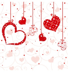 st valentine greeting card vector image vector image