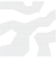 Abstract background black dots on white vector