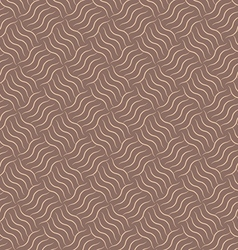 Abstract geometric curl brown pattern background vector