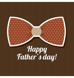 Fathers day design over brown background vector