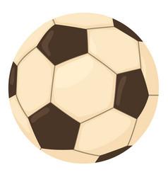 football ball icon cartoon style vector image