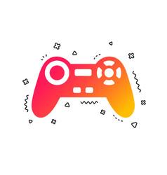 joystick sign icon video game symbol vector image