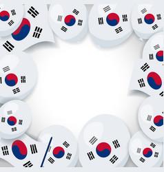 Memorial day south korea vector