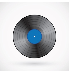 Retro Vinyl Record vector image