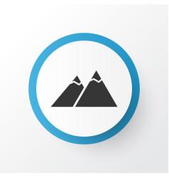the mountains icon symbol premium quality vector image