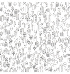 Urban architectural background vector image