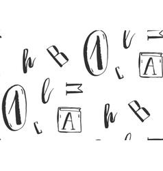 Hand drawn abstract vector image vector image