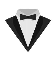 Tuxedo Man Icon vector image