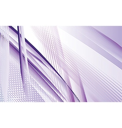 Dynamic Purple Swoosh vector image