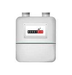 Gas meter vector