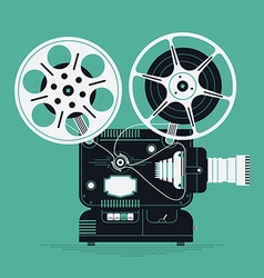 Movie Projector Icon vector image