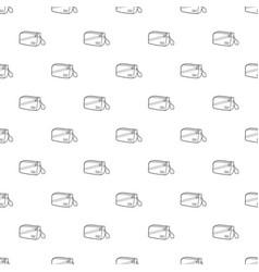 Waist bag icon outline vector