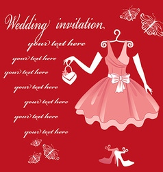 WeddingInvitation vector