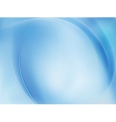 Blue Light Wave Abstract Background EPS 10 vector image vector image