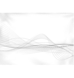 modern abstract striped swoosh futuristic mild vector image