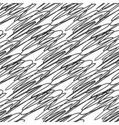 Abstract seamless black and white zigzag pattern vector image vector image