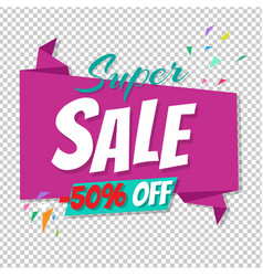 big sale poster transparent background vector image