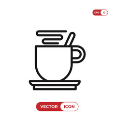 coffee break icon vector image