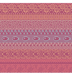 Decorative pattern design vector image