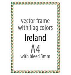 Flag v12 ireland vector