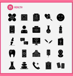 Health solid glyph icon for web print and mobile vector