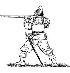 Musketeer vector