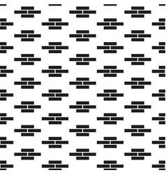 Seamless geometric pattern simple endless vector