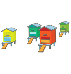 apiary vector image vector image