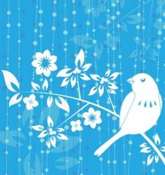 bird decoration vector image vector image